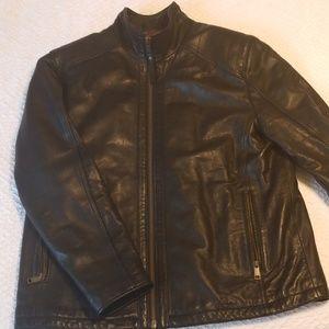 Andrew Marc Neptune Leather Jacket